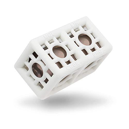 MOLLIK Cube Pro | Reduzierung von Kalk, Beläge und unangenehme Gerüche in Waschmaschine Kaffeemaschine Spülmaschine Wasserkocher Vollautomat| Katalysatortechnik ohne Chemie für stark belastetes Wasser