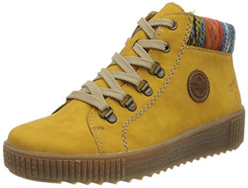 Rieker Damen M6411 Mode-Stiefel, Gelb, 41 EU