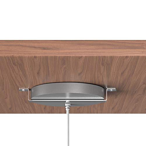 kalb | QI Unterbau und Einbau Ladegerät grau Ladedistanz 3-18 mm Smart Wireless