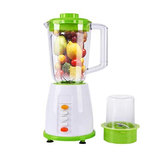 Zixin Libre de la FDA/BPA Fruta y exprimidor de verdura, Fruta Entera y Zumo de verdura con 3 ajustes de Velocidad for Picar Hielo for los Batidos licuadora