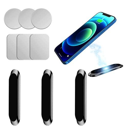 Qianyou 3 opakowania magnetyczny uchwyt samochodowy do telefonu, obrotowy o 360° magnetyczny uchwyt na telefon komórkowy do samochodu, uniwersalny samochodowy uchwyt na telefon na deskę rozdzielczą uchwyt uchwyt na telefon do iPhone 13 12 XR 7, do Samsung S20 S10 Plus