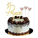 Happy Birthday Prince Cake Decoration Party Cake Topper Birthday Party Supplies