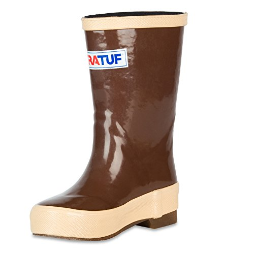 "XTRATUF Legacy Kids Series 8"" Neoprene Kids' Boots, Copper & Tan (22681G)"
