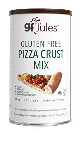 gfJules Gluten Free Pizza Crust Mix - Voted #1 by GF Consumers 1.05 lbs, Pack of 1