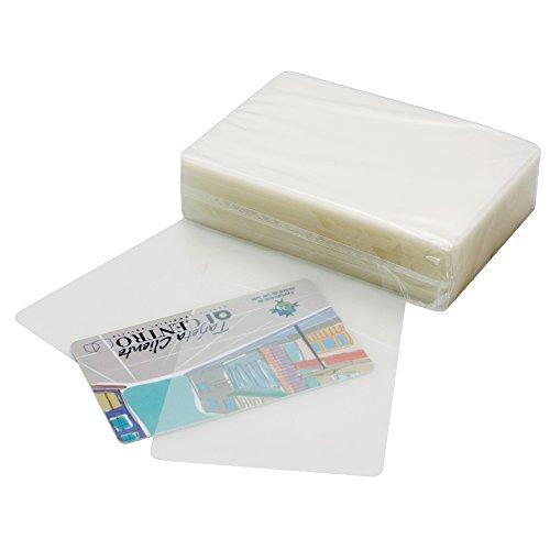 Makro Paper 11070 - Caja con pl?stico para plastificar, 100 unidades, 110 x 80 mm