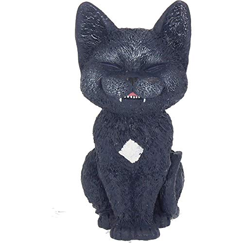 Nemesis Now Count Kitty, Resin, Black, One Size