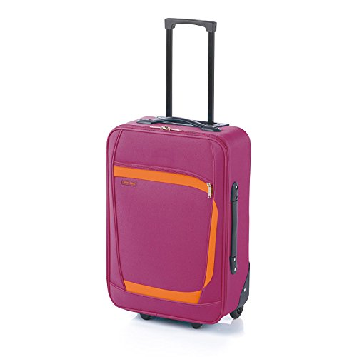 JOHN TRAVEL PLAY MALETA MEDIANA 4R - Fucsia