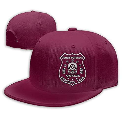 JIMSTRES Zombie Outbreak Tactical Response Team Adjustable Cotton Baseball Cap
