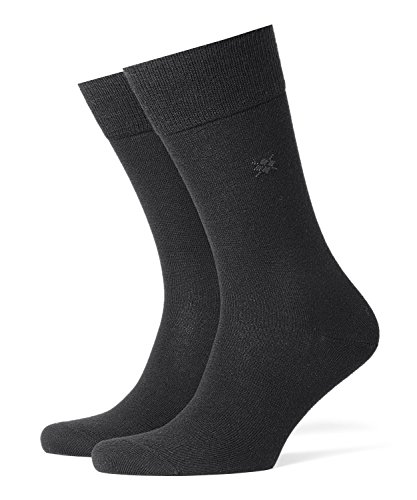 Burlington Herren Socken Leeds M SO, Schwarz (Black 3000), 40-46 (UK 6.5-11 Ι US 7.5-12)