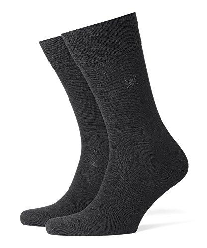 Burlington Herren Socken Leeds M SO, Schwarz (Black 3000), 46-50 (UK 11-14 Ι US 12-15)