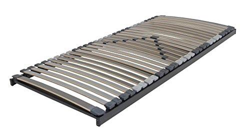 XXL Lattenrost Perbix 200 kg - Rahmen starr, 100x200 cm