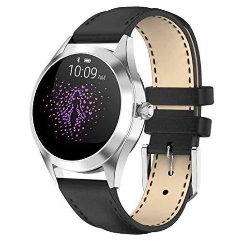 QIAI Smart Armband Übung Schrittzähler Herzfrequenz Schlaf Überwachung Smartwatch Touchscreen Flip Handgelenk Hellen Bildschirm IP68 wasserdichte Smartwatch(Color:C.)