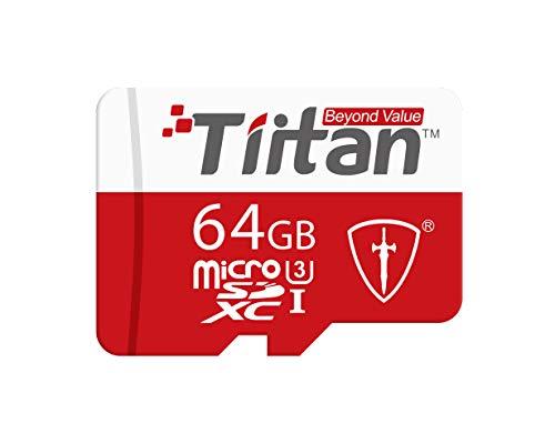 TIITAN 64GB UHS III MicroSDXC Memory Card