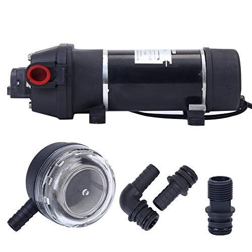 BOKYWOX 110V Self Priming Water Pressure Pump 160PSI 5.5L/min Diaphragm Pump for...