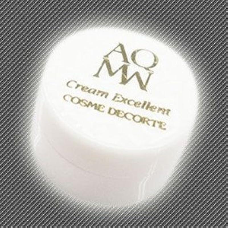 電話する朝の体操をする再現するコスメデコルテ AQ MW クリームエクセレント 2.4ml(ミニ)