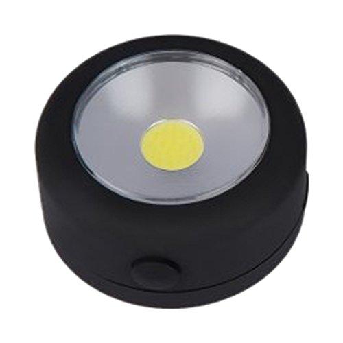 electralight 65267 3 W COB rond werklicht – zwart
