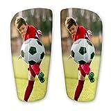 Red Snapper Photo Espinilleras Personalizadas Personalizadas con tu diseño o Foto, para niños.