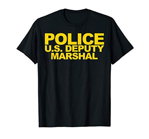 U.S. Deputy Marshal Shirt Front Print Law Enforcement