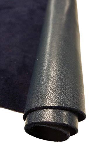 REED Las Pieles de Cuero - Vaca Pieles tamaños (8 Pulgadas x 11 Pulgadas, Negro)