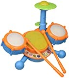 VTech KidiBeats Drum Set (Frustration Free Packaging), Great Gift For Kids, Toddlers, Toy for Boys...
