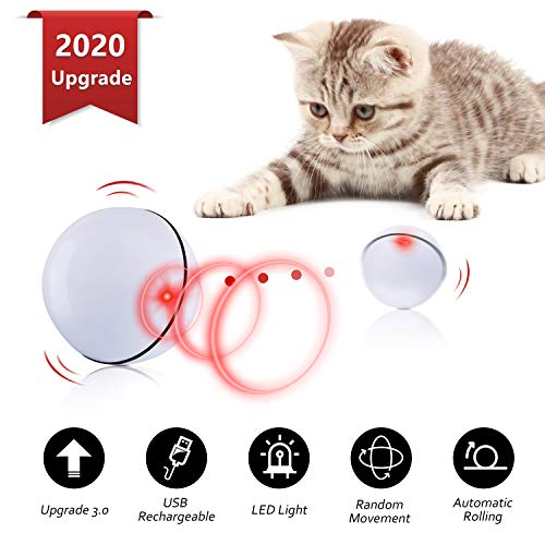 Domgoopet Interactive Cat Toys Ball $5.52 (60% Off with code)