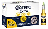 Corona Extra Mexican Lager Beer Bottle, 18 x
