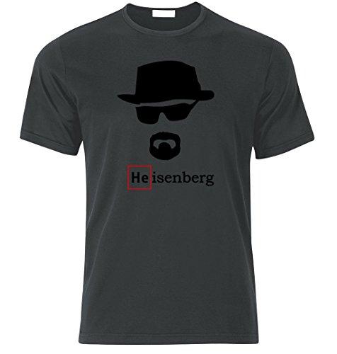 Heisenberg Best Party Spass Lustig Fan T Shirt S/M/L/XL/XXL (L, Graphite)