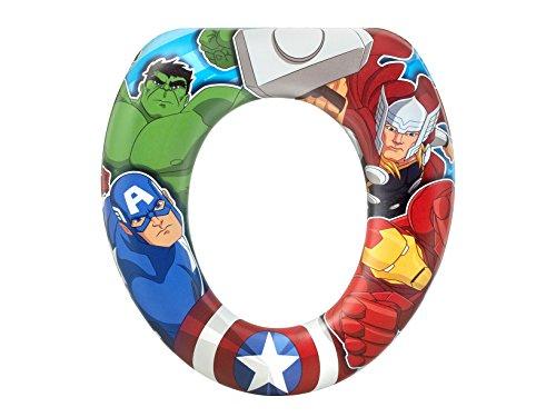 Reductor de inodoro acolchado de Avengers