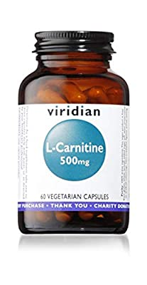 L-Carnitine 500mg: 60 Veg Caps