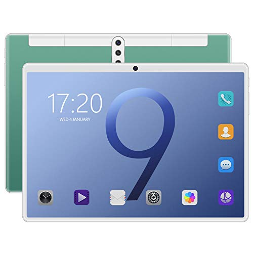 10.1 Inch Tablet, Android 8.0, 10 Core Phablet, 128GB ROM 6GB RAM, WIFI, GPS, Cameras, SIM Card Slots, 1280*800 HD IPS Screen,Tablet Pad