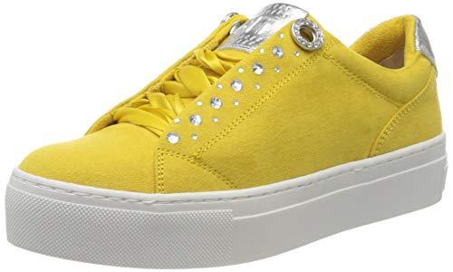 MARCO TOZZI Damen 2-2-23720-24 Sneaker, Gelb (Yellow Comb 614), 39 EU