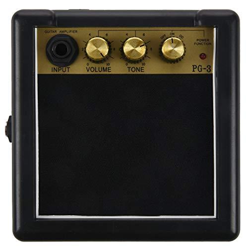 Senmubery Portable Ampli Basse Guitarra AMP 5W Haut-Parleur Clip-On Guitare PièCes Accessoires pour Guitare Electro-Acoustique PG-3