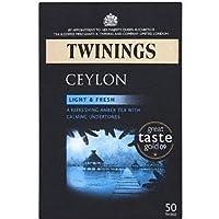 英国トワイニング セイロン紅茶 125g 50ティーバッグ TWININGS CEYLON TEABAGS【海外直送品】【並行輸入品】