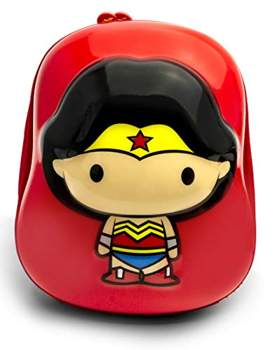 Ridaz Dc Justice League Wonder Woman - Mochila infantil (35 cm), color rojo