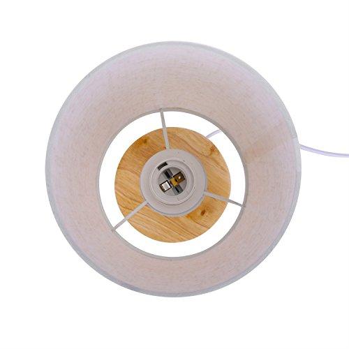 和風スタンドLED電球付きベッドサイドランプ間接照明癒し雰囲気を演出授乳リビング寝室