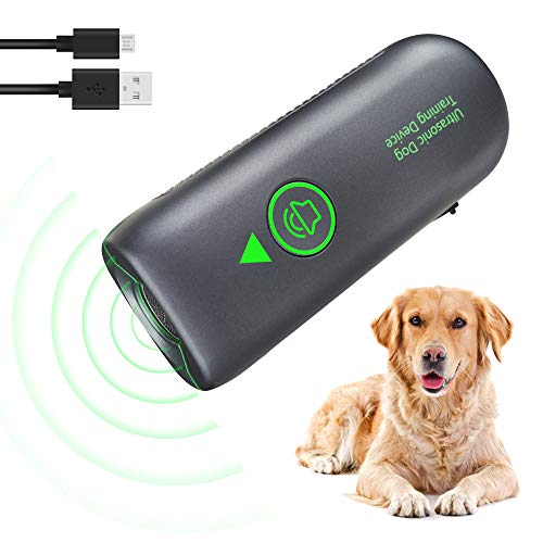 Anti Dog Barking Device, Stop Dog Bark Ultrasonic Handheld Anti-Bark Device...