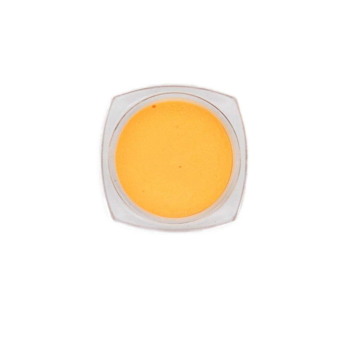 命題つま先論理的にirogel イロジェル ネイルアート 蓄光パウダー【オレンジ/約2.5g入り】