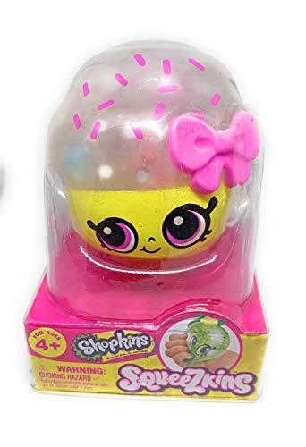 Shopkins Squeezkins Cupcake Queen Squeezable Gel Figure