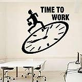 Modeganqingg Büro Wandzeit Büro Büro Inspirierend Arbeitsbereich Schreibtisch Innen Aufkleber...