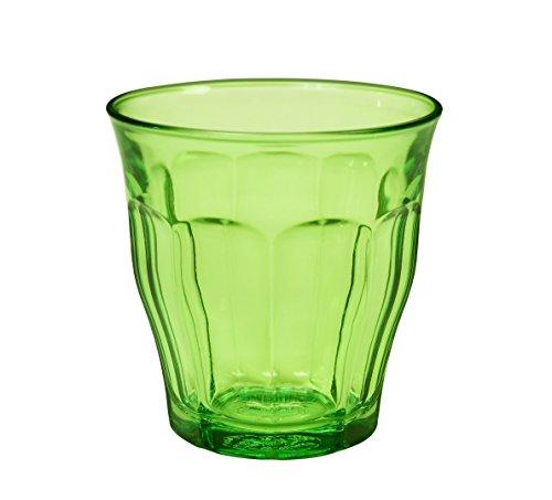 Duralex 1027sr06 Picardie 6 glazen glas groen 8,5 cm