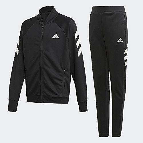 adidas Kinder Trainingsanzug YB XFG TS, Negro/Blanco, 164, ED6215