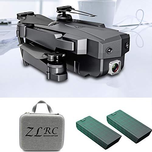 WIFI FPV Mini Drone 2.4GHZ 4K HD Verstelbare camera Volg opnamemodus Vouwvleugel quadcopter Buitenspeelgoed voor kinderen, kan als cadeau aan uw kind worden gegeven,2battery