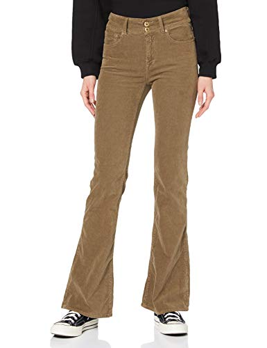 REPLAY NEWLUZ Flare Jeans, 121 Beige, 23W / 30L para Mujer