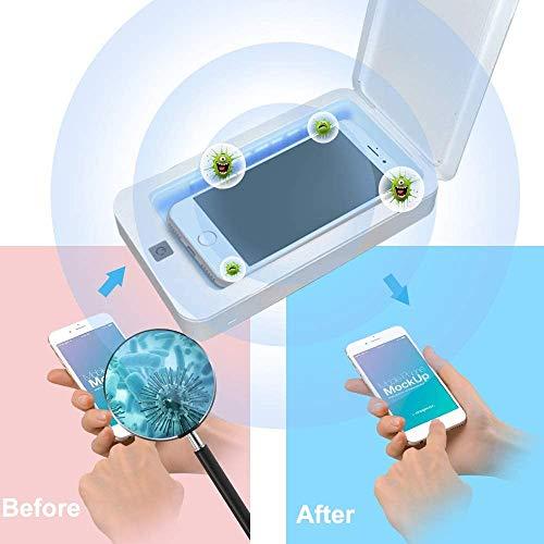 UV Phone Sanitizer Box, draagbare mobiele telefoon sterilisator, aromatherapie functie Disinfector, voor mobiele telefoons Ondergoed