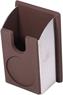 Premium Newest Coffee Tamper Holder Silicon Espresso Support Base Rack Coffee Color 140x75x65mm Coffee Accessories