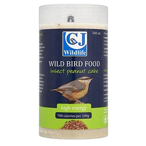 CJ de la faune d'arachide Tortas avec 500 ml insectes