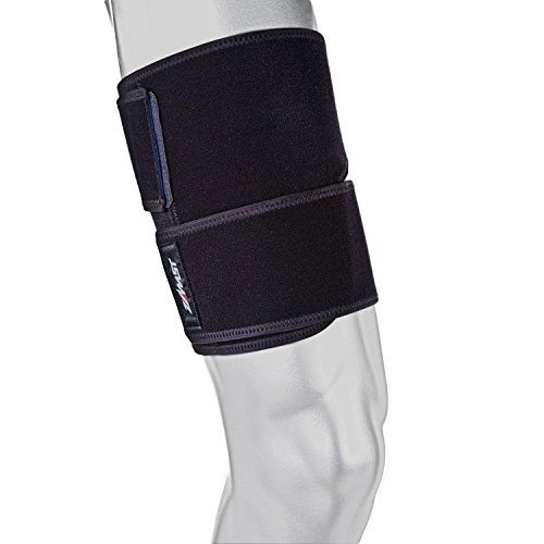 Zamst TS-1Compression Support for Thigh Muscle black black Size:Small by Zamst