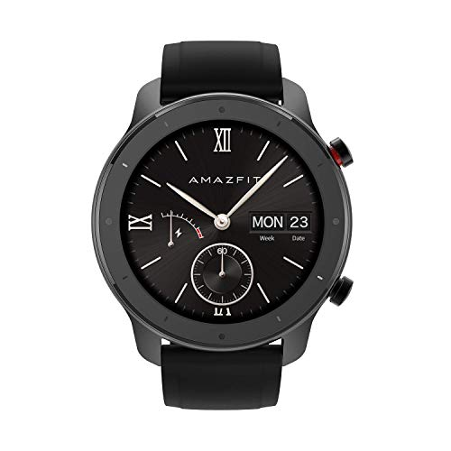 Amazfit GTR 47mm Smart Watch with All-Day Heart Rate and Activity Tracking, Ultra-Long Battery Life (Lite Version)