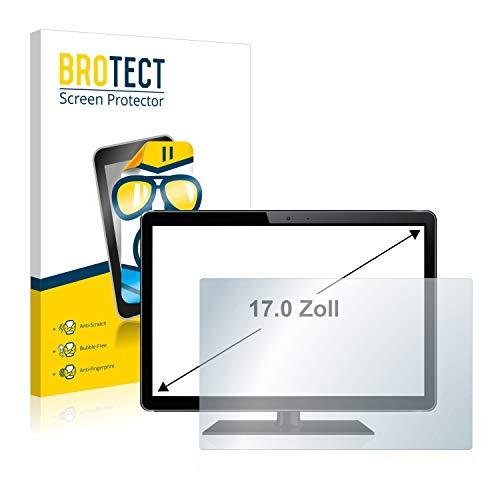 BROTECT Protector Pantalla para Monitores industriales de 43.2 cm (17 Pulgadas) [338 mm x 270 mm, 5:4] Protector Transparente