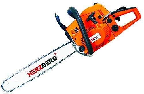 Herzberg HG-5800-Motosega Termica, Grande